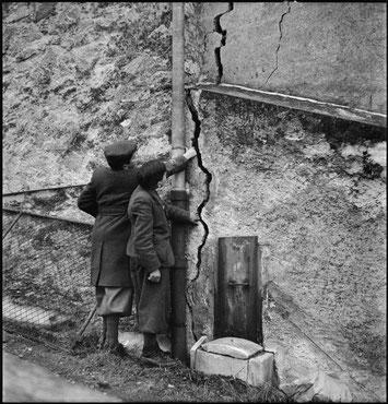 1946 bebte die Erde im Wallis: Risse im Gemäuer waren die Folge.