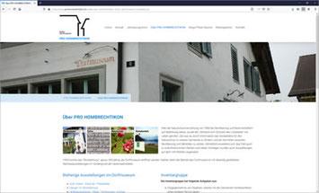 PRO HOMBRECHTIKON - Kultur Dorfmuseum