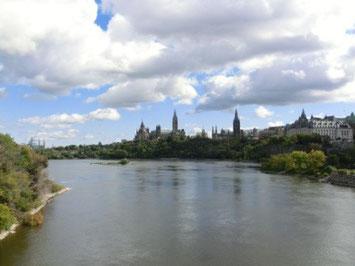 Der Blick auf Ottawa