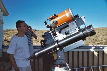 Waarnemingsreis naar Namibië - Hakos sterrenwacht