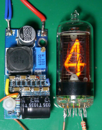 170-200v boost converter for Nixie tube