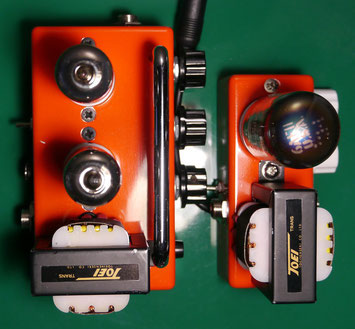 DIY small tube guitar amplifier head