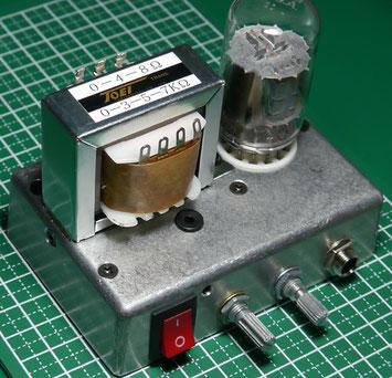 6AF11 One Tube Guitar Amp