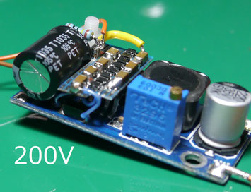 DC-DC Step up from 9V to 200V  drive a vaccum tube
