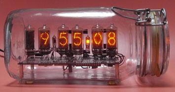 IN-8-2  DIY nixie tube clock ニキシー管時計自作