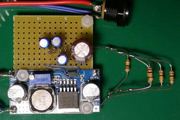 Xl6009 + ダイオードチャージポンプ 3段 100V 昇圧回路