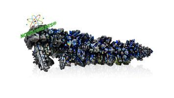 cristalli di vanadio metallico elemento 23 da collezionare