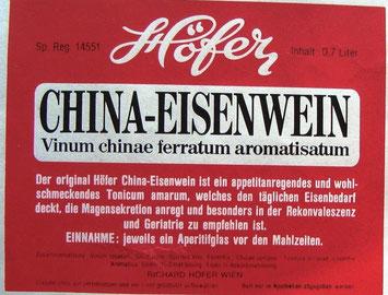 Höfer - China-Eisenwein