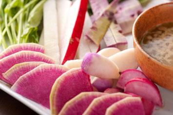 鮮烈で濃厚な風味の相州野菜