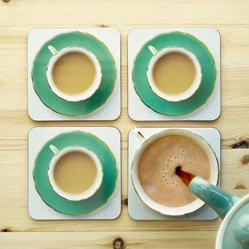 coasters high tea cuppa coaster top tea blogger Christmas gift