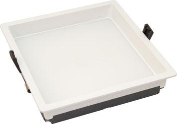 Bild: LED Paneel rund 8W mit versenkter Leuchtfläche
