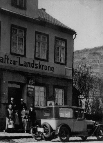 Aufbruch zur Ostertour 1928