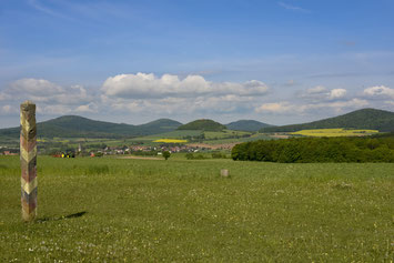 Point Alpha in der Thüringer Rhön