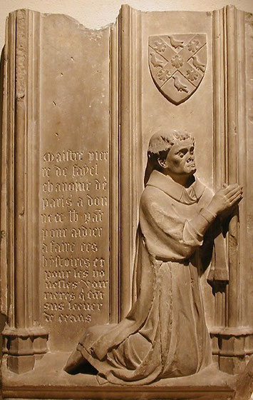 Pierre de Fayel, chanoine de Paris (mort en 1344) - Jean Ravy (XIVe) - Musée du Louvre - Aile Richelieu - Rez-de-chaussée
