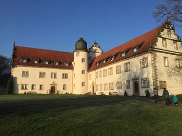 Der Tagungsort: Schloss Buchenau bei Bad Hersfeld. // Foto: Gömmer