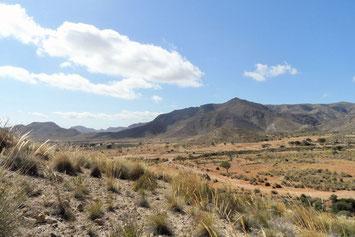 Berglandschaft in Spanien bei Cartagena