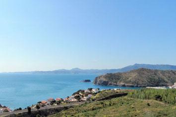 Spanien Küste vor französicher Grenze