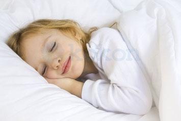 Maulbeerseide ist gut geeignet für empfindliche Kinderhaut.