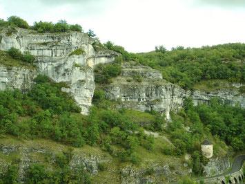 Falaises Lot 46 Rocamadour