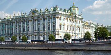 Bild: Die Eremitage in St. Petersburg