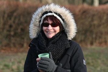 Daniela Krap. Orga-Chefin
