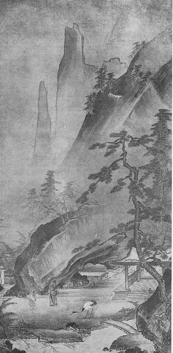 Le poète Rinnasei. Ernest Francisco FENELLOSA (1853-1908) : L'art en Chine et au Japon.
