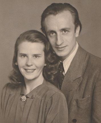 Gisela und Joachim im Jahr 1951 (Archiv Tettenborn)