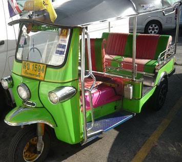 Reiseroute Thailand 2 Wochen - Tuk Tuk Bangkok