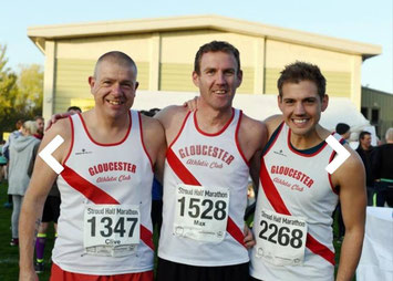 l-r: Clive Poole, Max Sheppard, Steve Kenyon