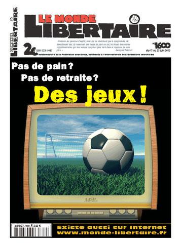 Le Monde Libertaire # 1597 27 mai 2010