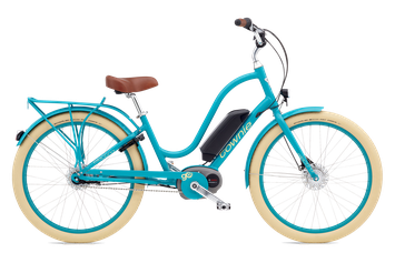 Bild Electra Townie Go Damen Lime 2016 Bosch Performance