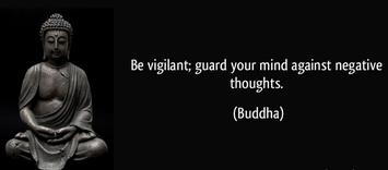 bloquea los pensamientos negativos