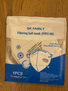 Zertifizierte FFP2 NR Maske EN 149:2001 +A1:2009 EINZELN VERPACKT! 0,75 € pro Stk. UMSATZSTEUERBEFREIT!