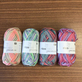 RICO Baby cotton soft print