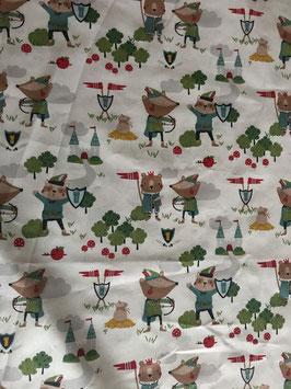 Jersey Robin Hood, Dachs und Fuchs, Comic
