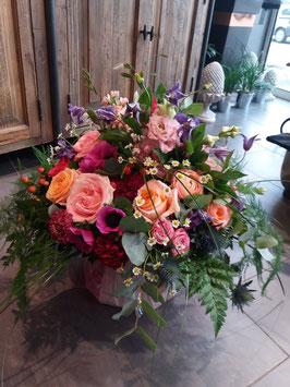 Bouquet rond prestige