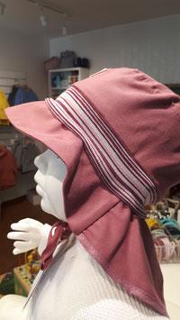 PICKAPOOH  Sonnenmütze LASSE mit Nackenschutz Rosa Farbe UV40