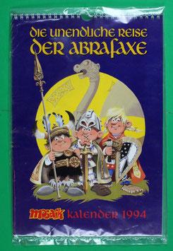 Kalender Abrafaxe Die unendliche Reise der Abrafaxe 1976-1993 von 1994 neuwertig & eingeschweißt