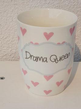 Porzellan Tasse mit Hänkel