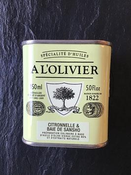 Olivenöl Zitronengras & Sansho - Beeren   - 150ml