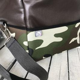 Up'n Swutsch - Camouflage braun mit Inlay (Größe M)
