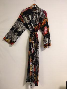 Kimono Dress pixel rose