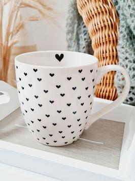 Tasse mit Herzen - SUNNY