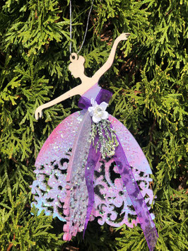 Princess Christmas ornament (handmade)