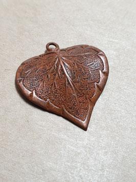 Vintaj Artisan Copper Classic Nouveau Leaf (CP0005R)