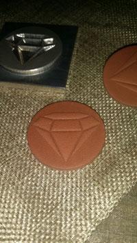 Prägestempel für Leder bis 5x5cm ohne grafische Bearbeitung