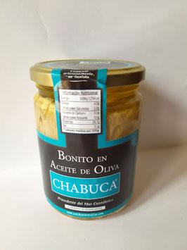 TARRO 410g. TRONCOS BONITO CHABUCA