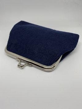 portamoneta grande 14x9cm blu col.8
