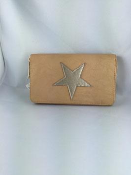 Portemonnaie Stern /beige 007