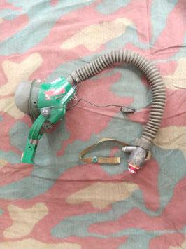 Maschera ossigeno US con microfono, attacco, epoca Vietnam